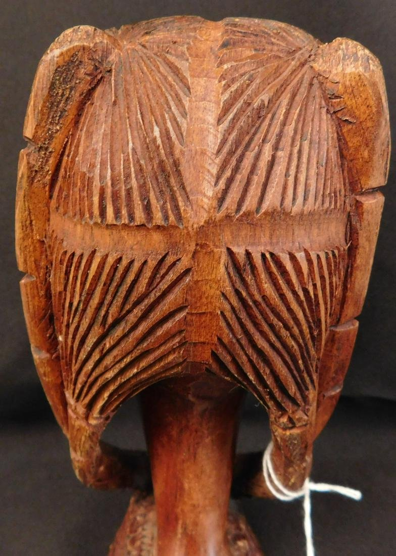 African Female Wood Carving - 7