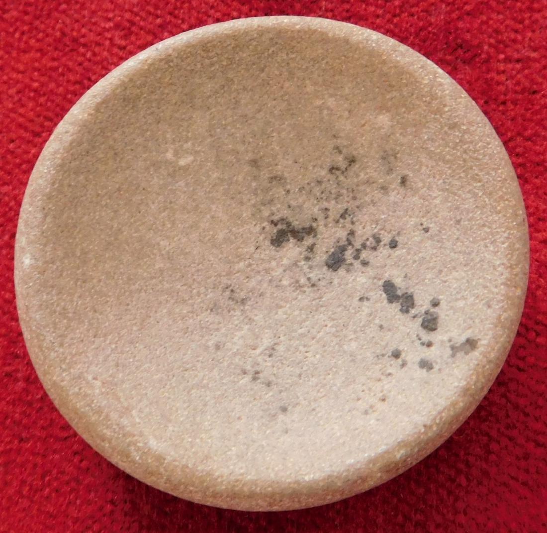 Discoidal Stone w/Jackson COA - 2