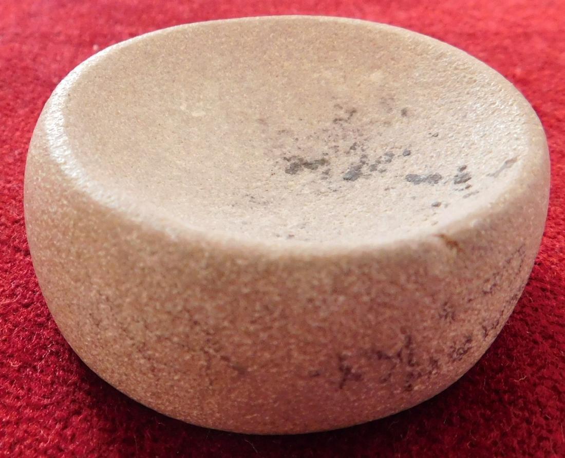 Discoidal Stone w/Jackson COA - 3