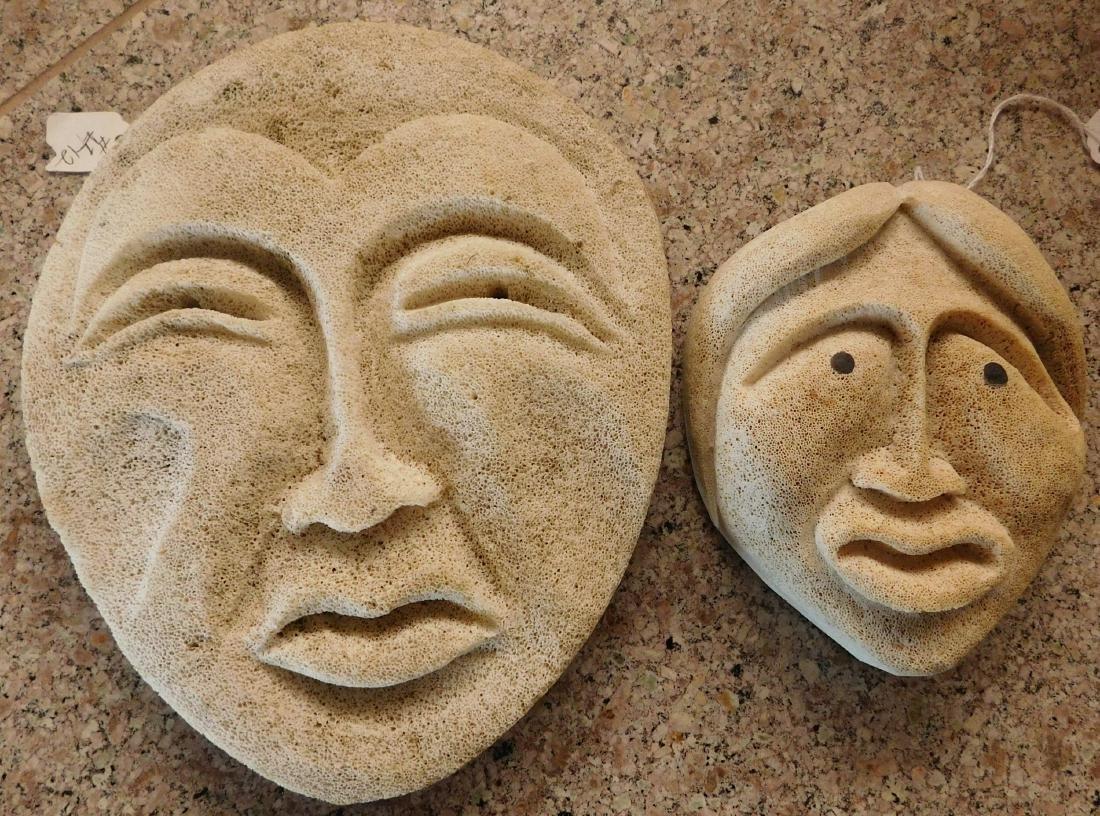 Mother & Daughter Bone Masks
