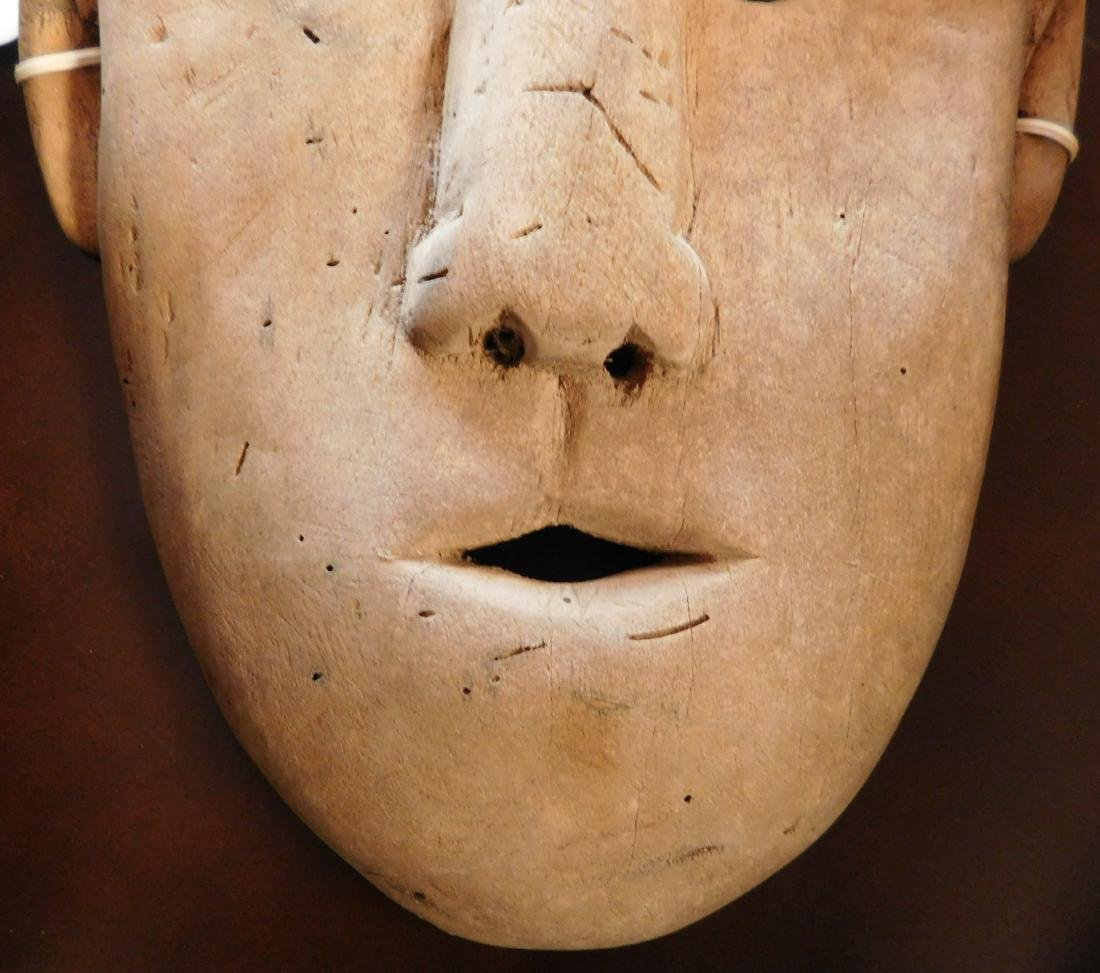 Old Bering Sea Wood Mask - 2