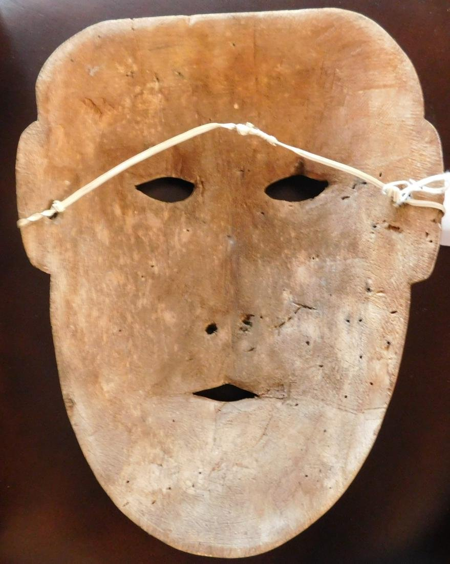 Old Bering Sea Wood Mask - 4