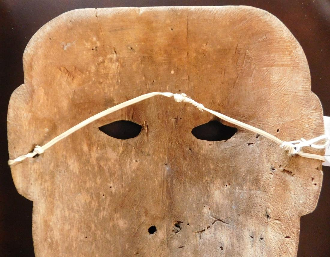 Old Bering Sea Wood Mask - 5