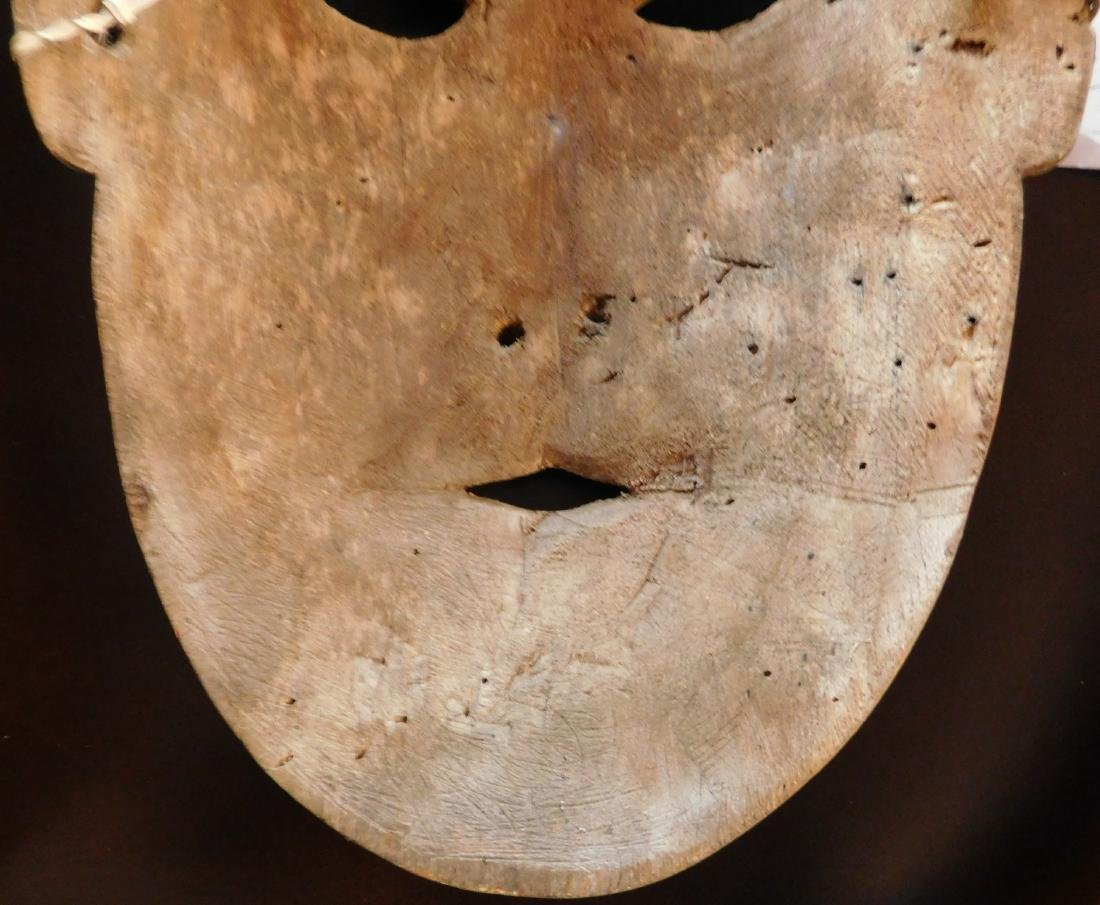 Old Bering Sea Wood Mask - 6