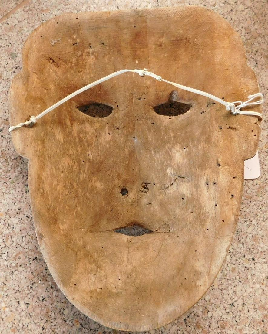 Old Bering Sea Wood Mask - 8