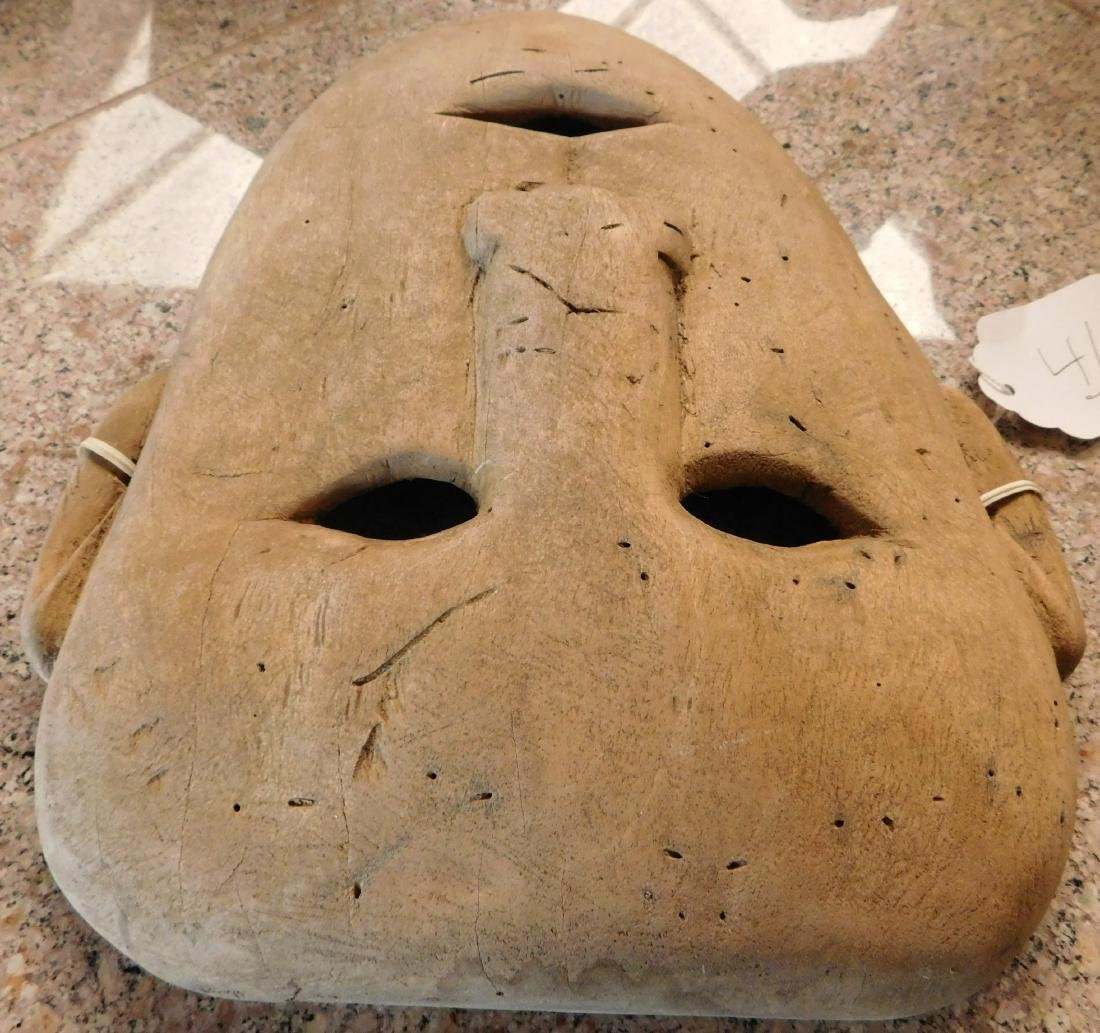 Old Bering Sea Wood Mask - 9