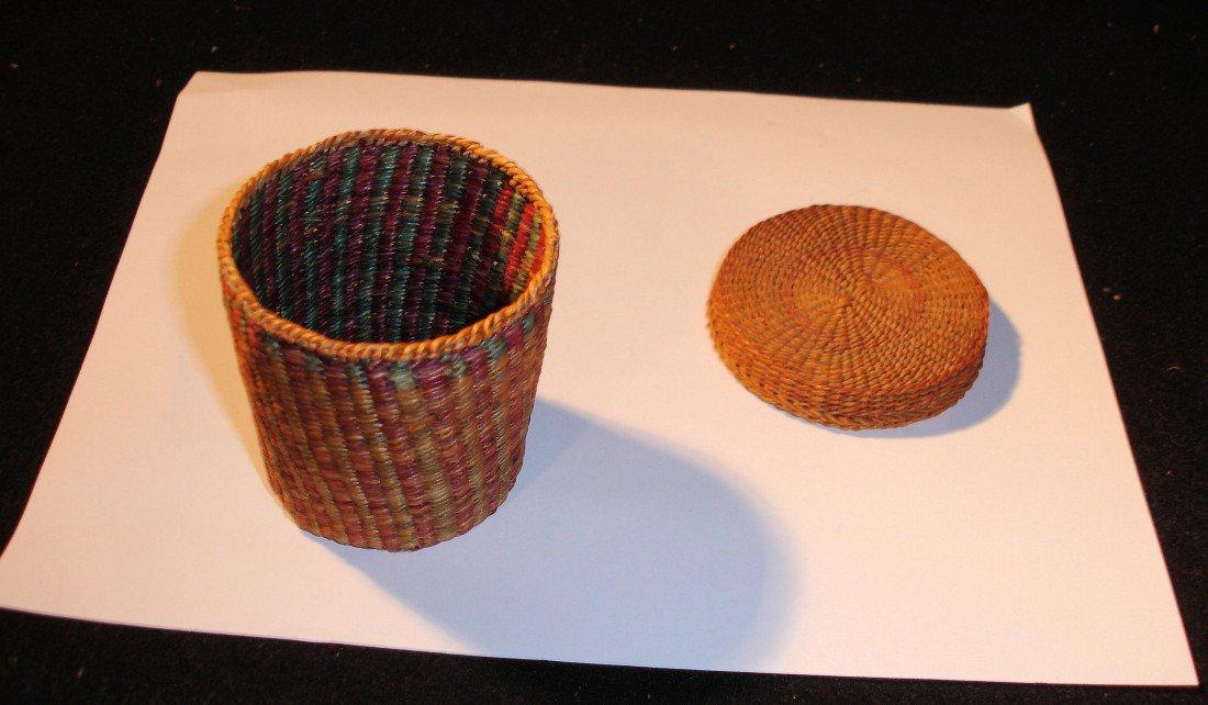 14: N.E. Native American Basket