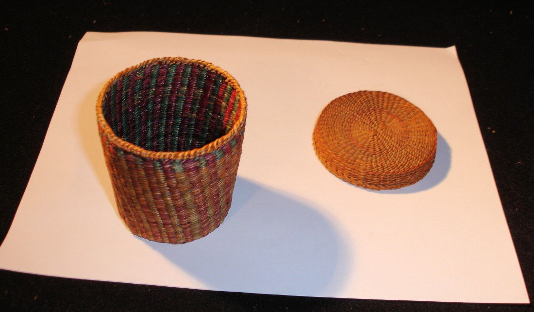 14: N.E. Native American Basket