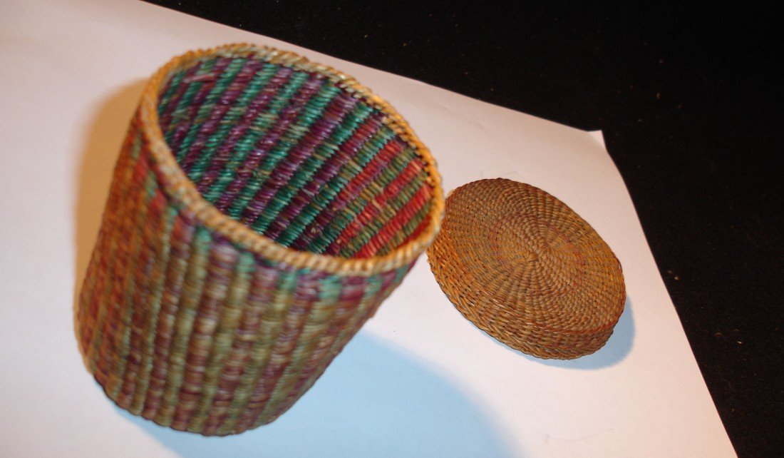 14: N.E. Native American Basket - 2