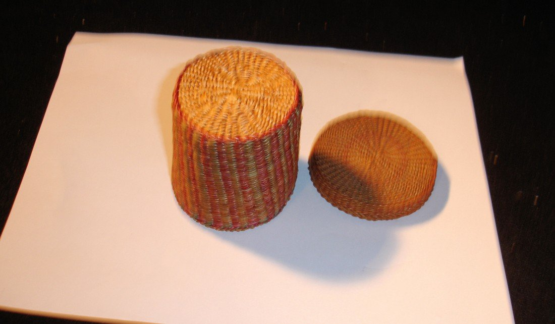 14: N.E. Native American Basket - 3