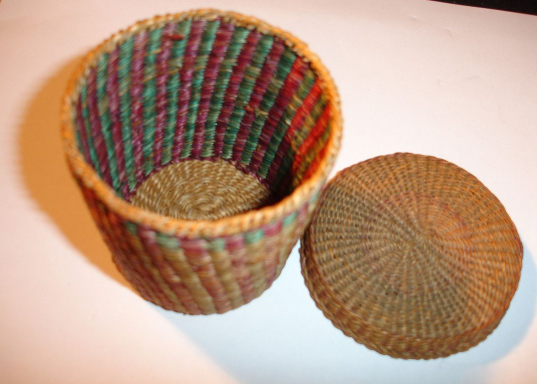 14: N.E. Native American Basket - 5