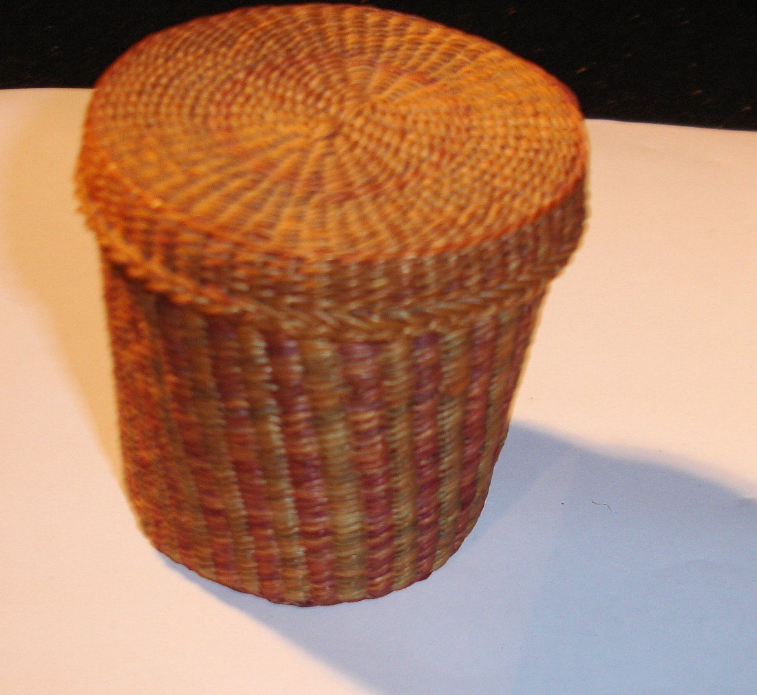 14: N.E. Native American Basket - 6