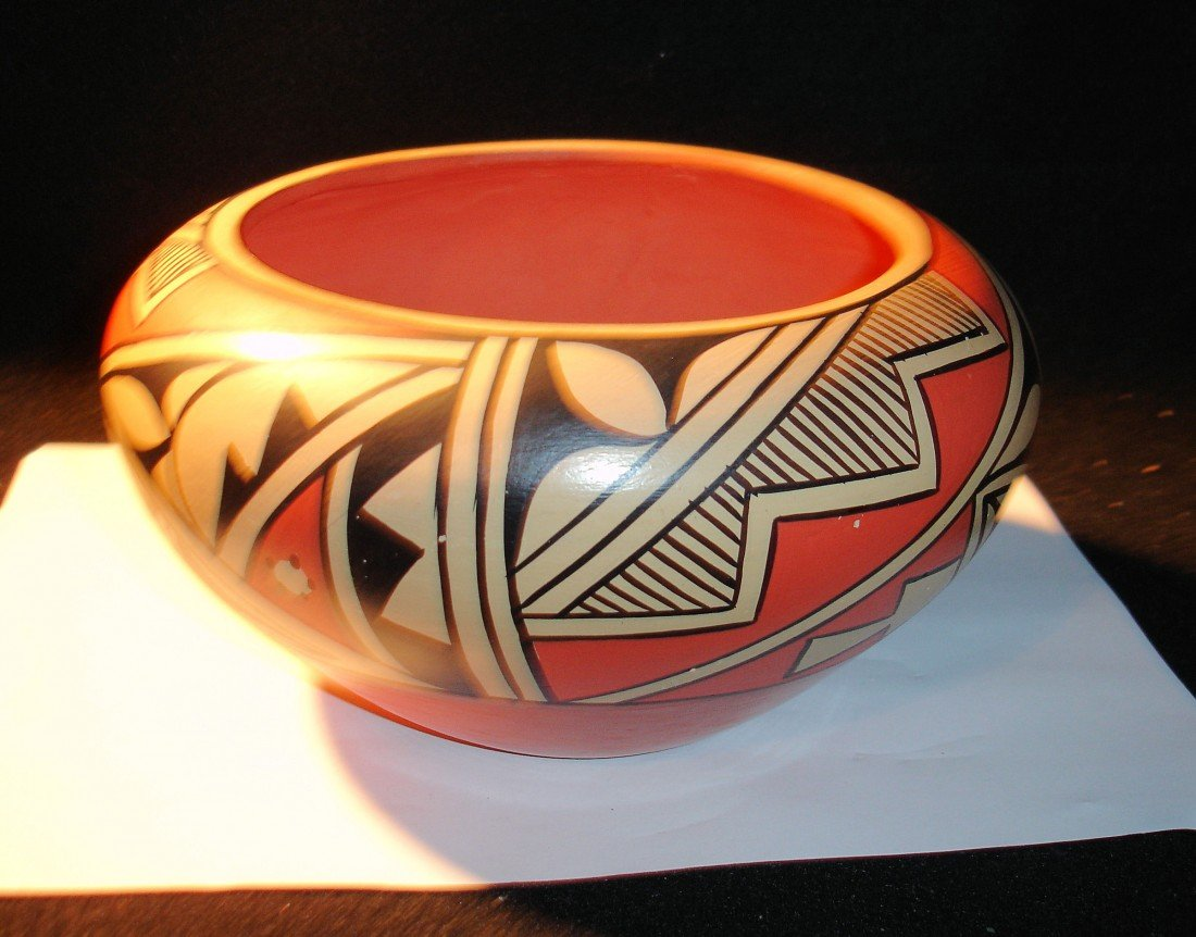 23: Jemez Pottery Bowl Sosa