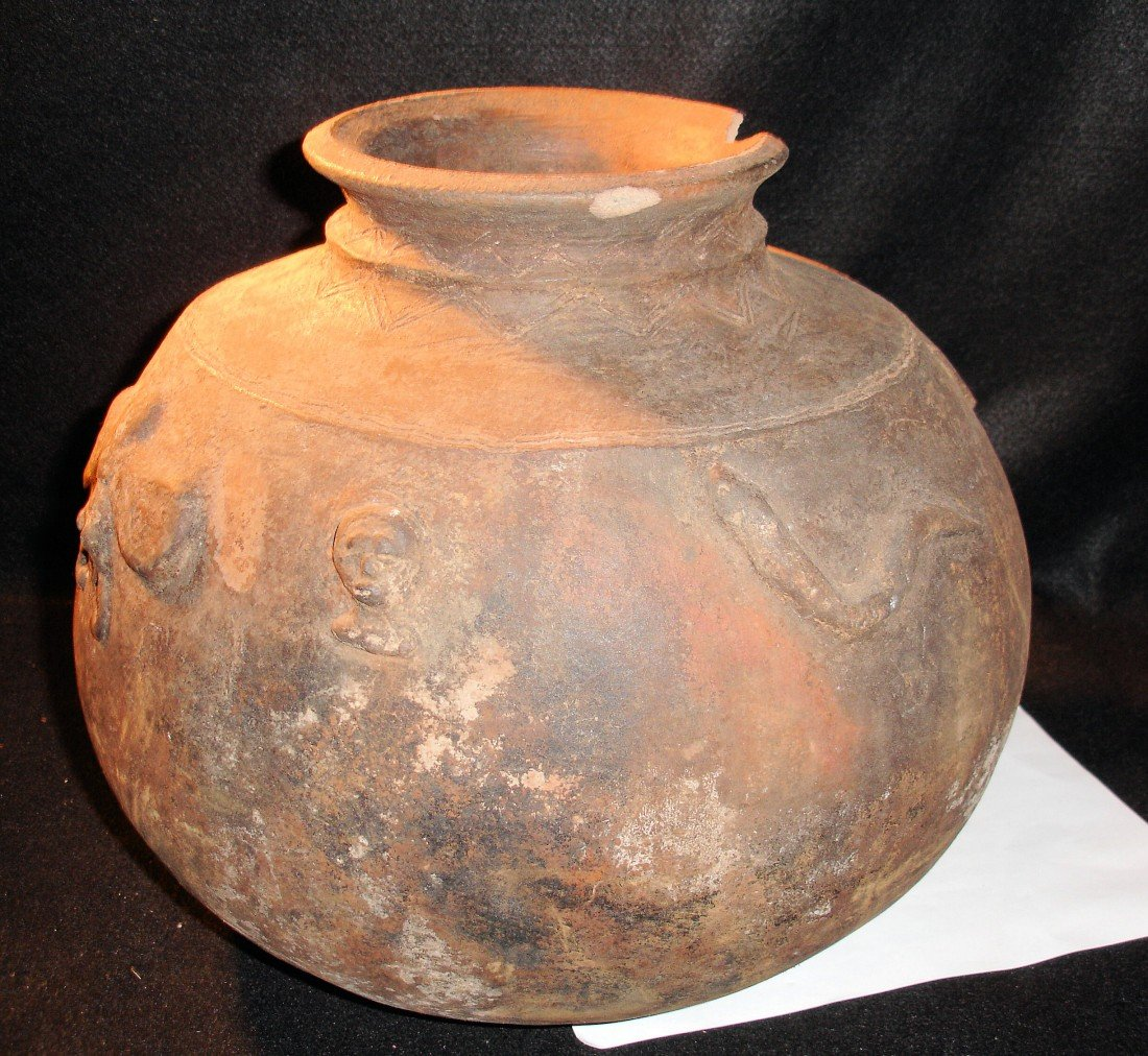 59: Large Archaic Olla or Vessel