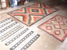 82: 3 Antique Navajo Rugs