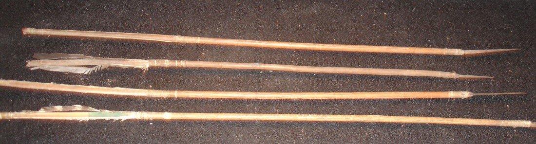 105: 4 Plains Arrows Metal Points