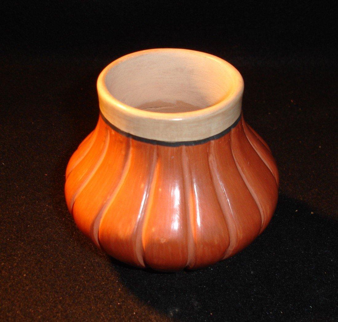 143: Virginia Fragua Melon Pot