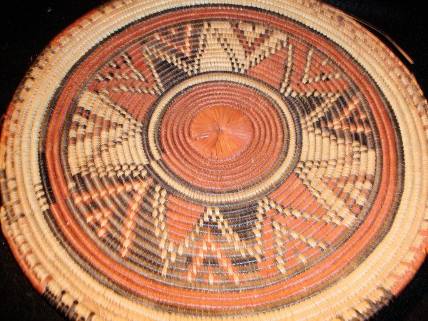 184: Native American Basket Tray - 2