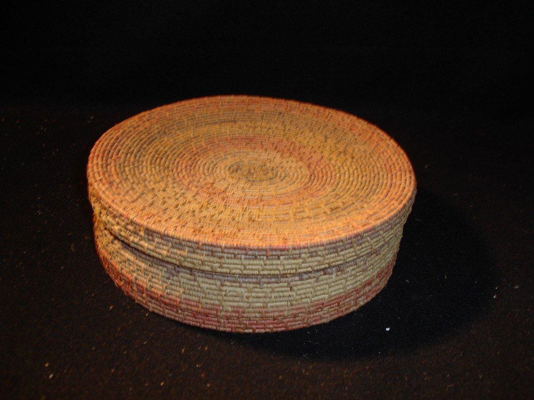 262: Vintage Covered Basket