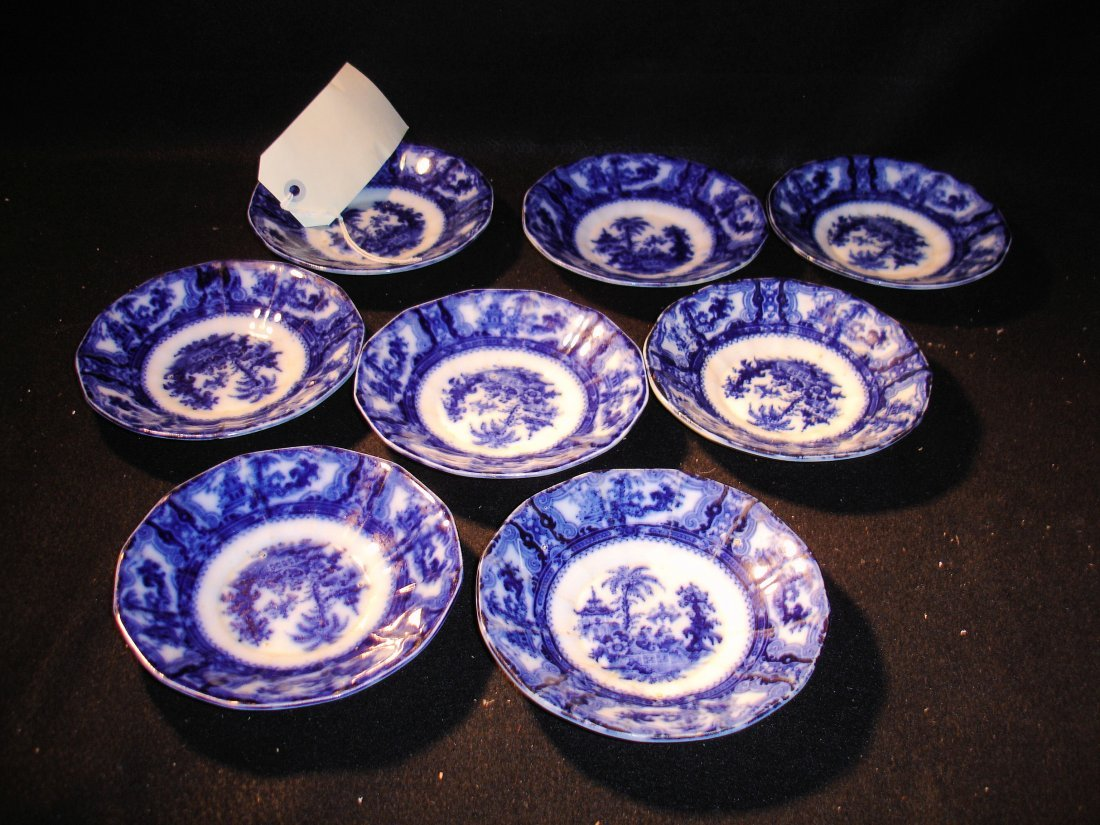 14: 8 Adams Flow Blue Saucers Kyber