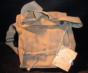 WW1? Mask Bag W/Instructions