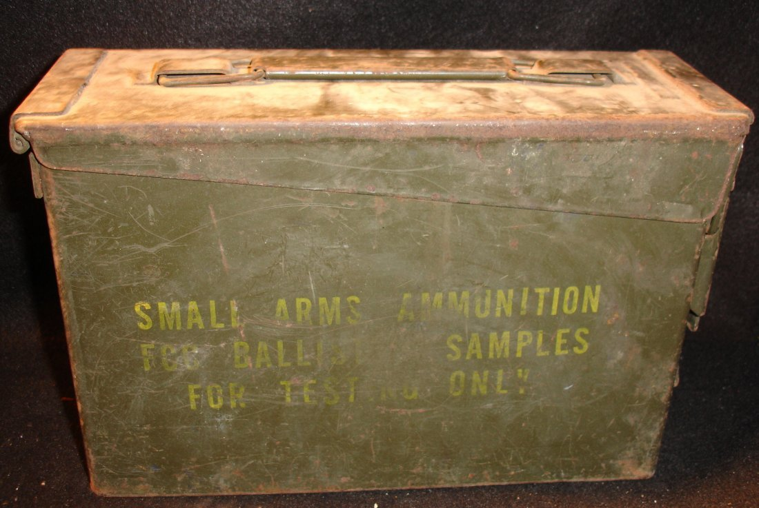 11: WW2 Metal Ammunition Box