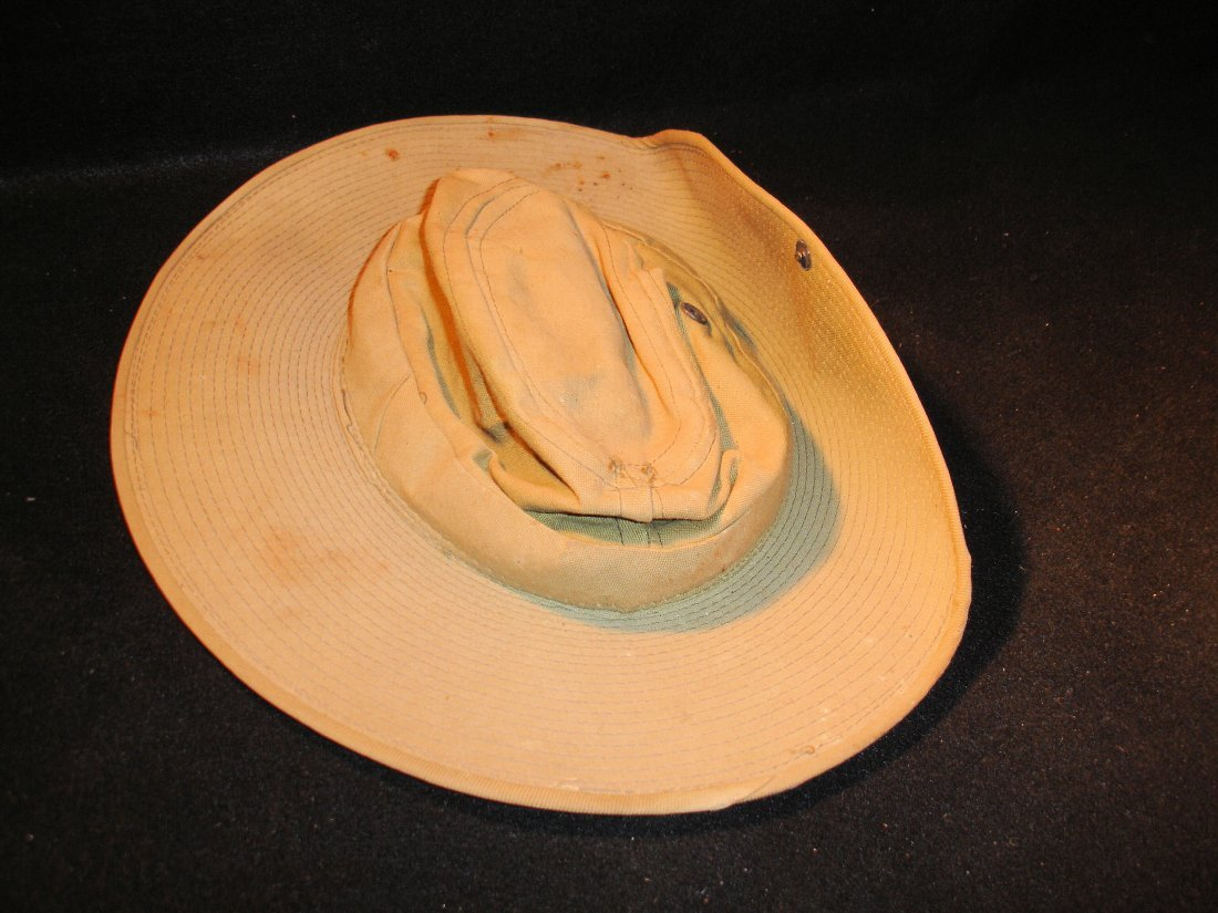 16: Old Pacific Combat Hat
