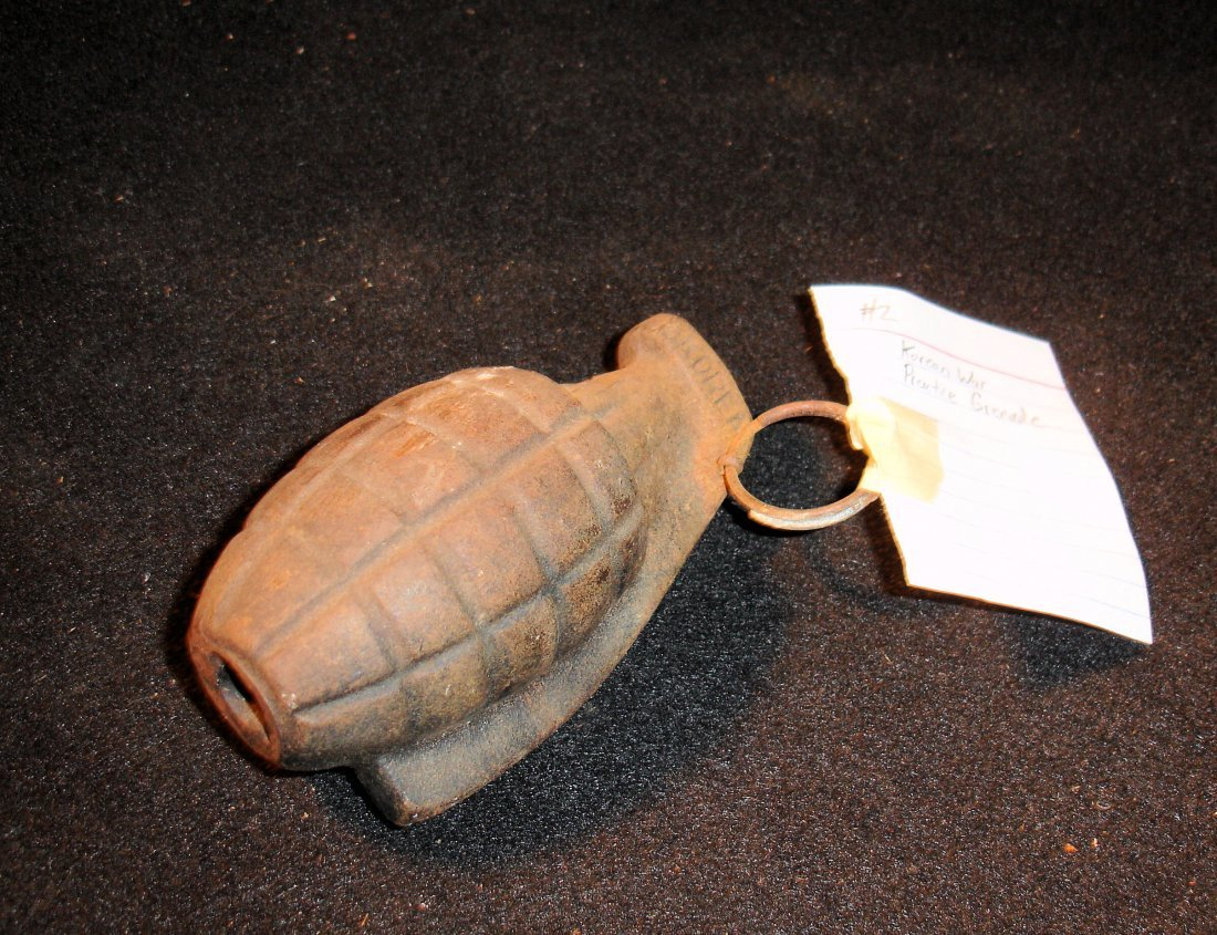 21: Korean War Practice Grenade w/Pin