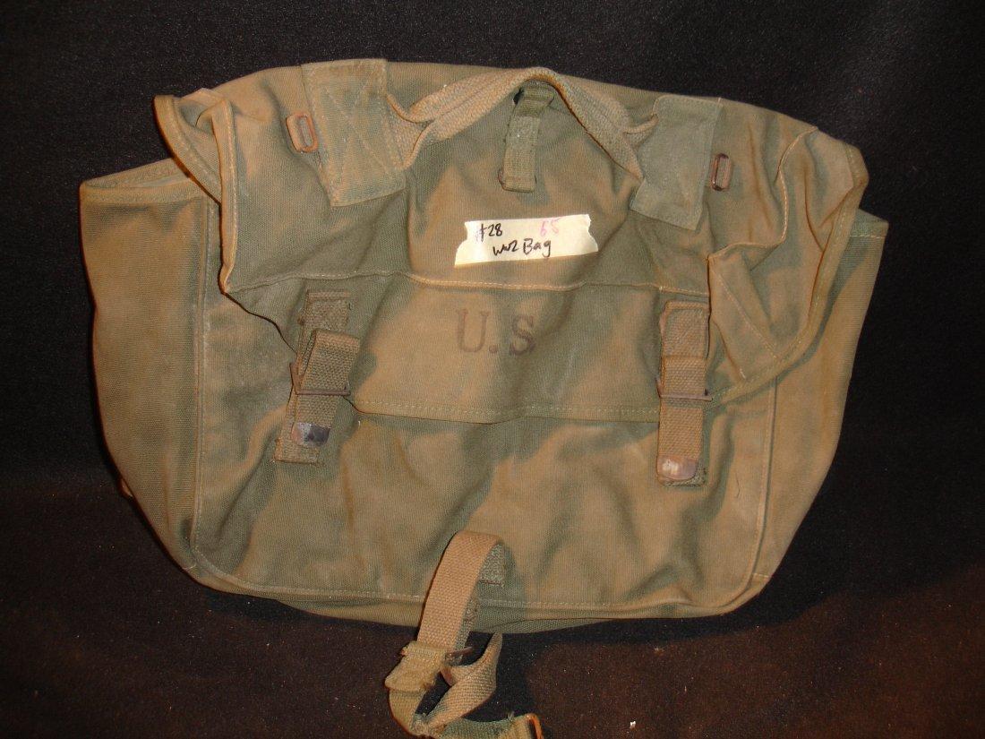 65: WW2 Inland Mfg. Bag
