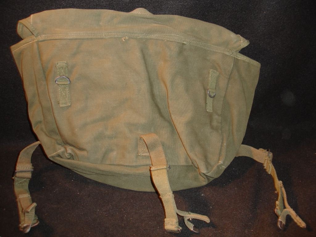65: WW2 Inland Mfg. Bag - 2