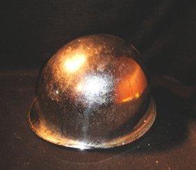 Chrome US Military Helmet