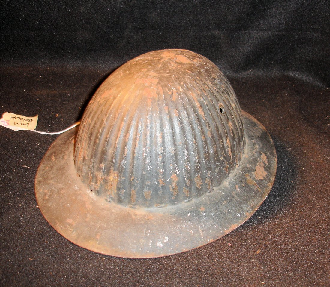 73: WW1 Portugese Helmet Shell