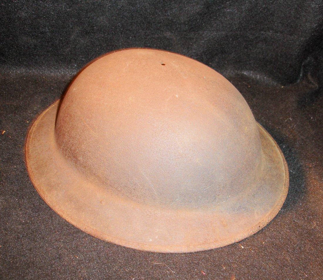 74: WW1 Plain Helmet Shell