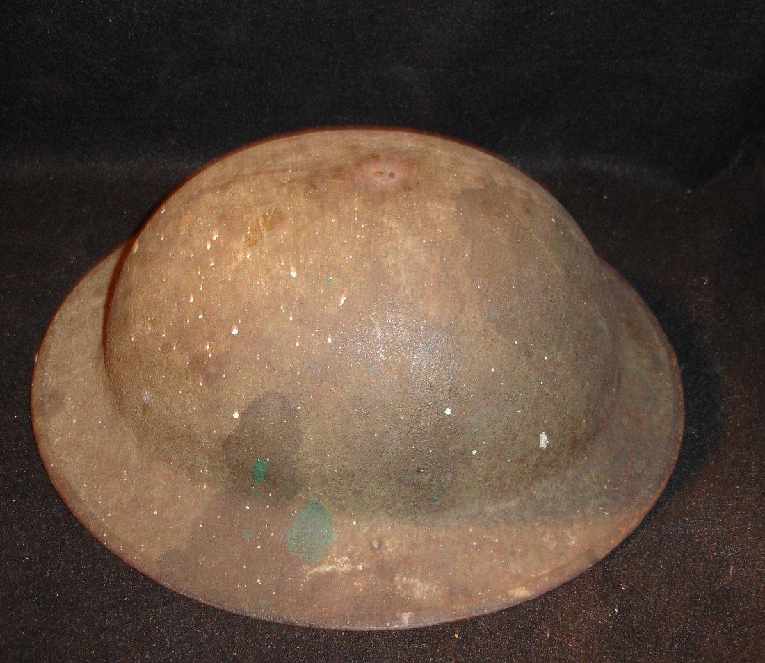 76: WW1 Helmet with Liner