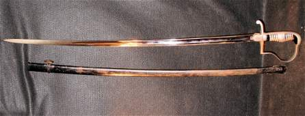 134: WW2 Eickhorn Solinger Sword & Scabbard