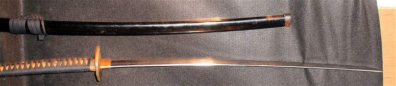 145: WW2 JapaneseNCO Signed Sword