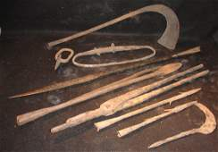 50: 10 Early African Iron Weapons & Tools