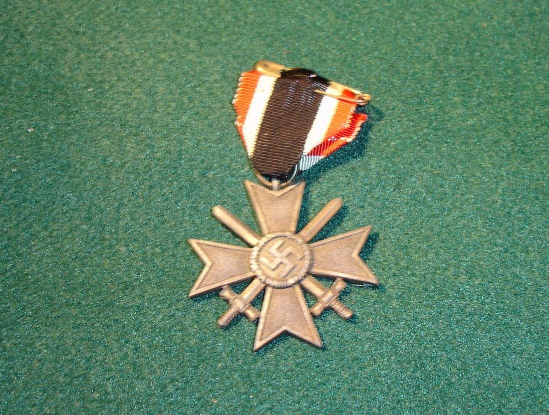 8: WW2 German Nazi Merit Cross 1st Class