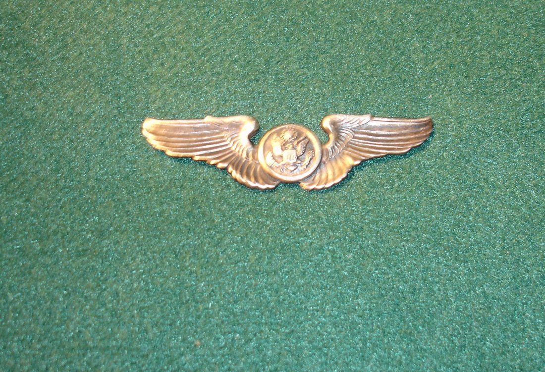 10: Sterling Silver Miltary Wings