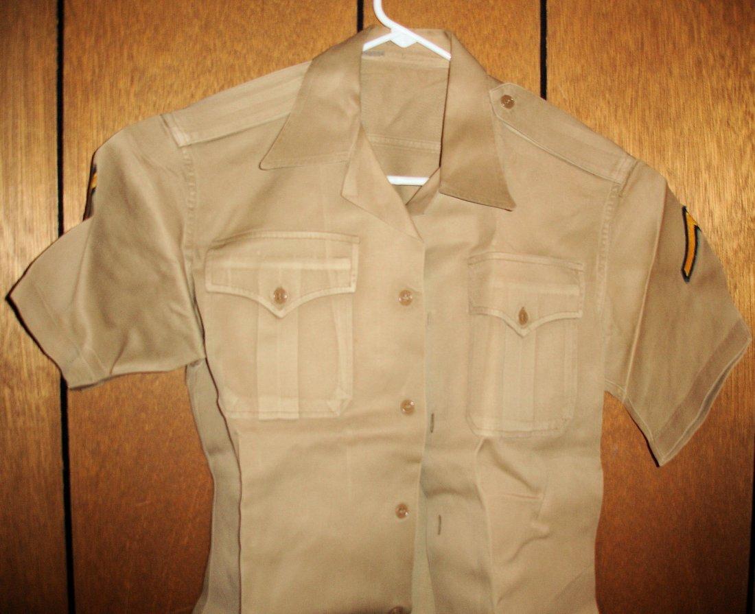 13: US Army Private Shirt, WW2- Korean Era
