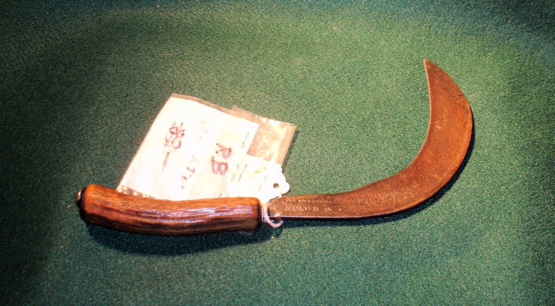 19: Early US Army Surgical Knife c. 1800's