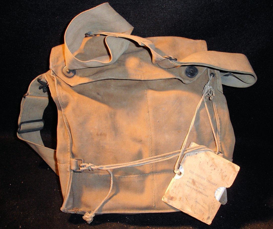 23: WW1 Mask Bag & Instructions