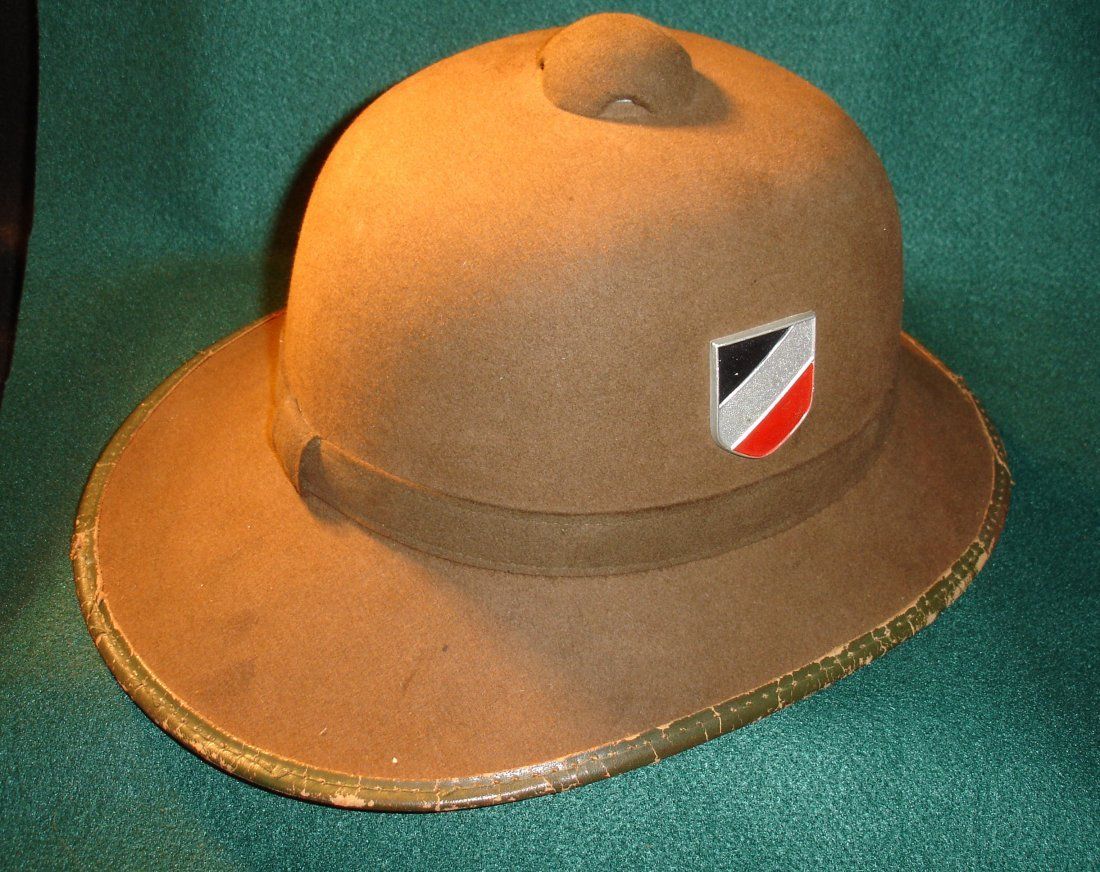 210: Nazi WW2 Afrika Korps Pith Helmet