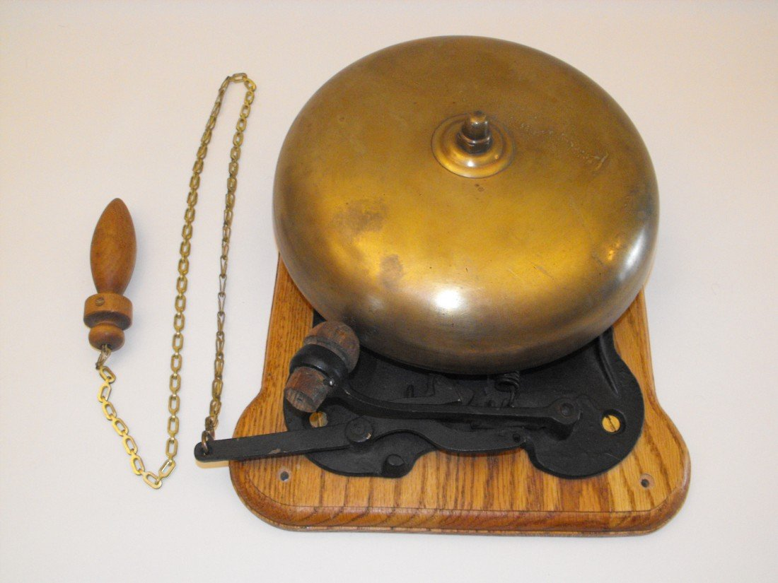 001: 1930's Prize Fight Bell