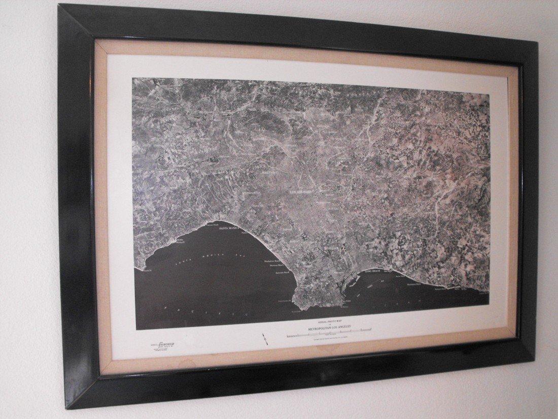 002: Aerial Photo of LA 1954