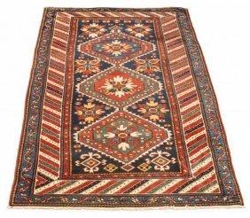 Caucasian Hand Woven Kazak Carpet