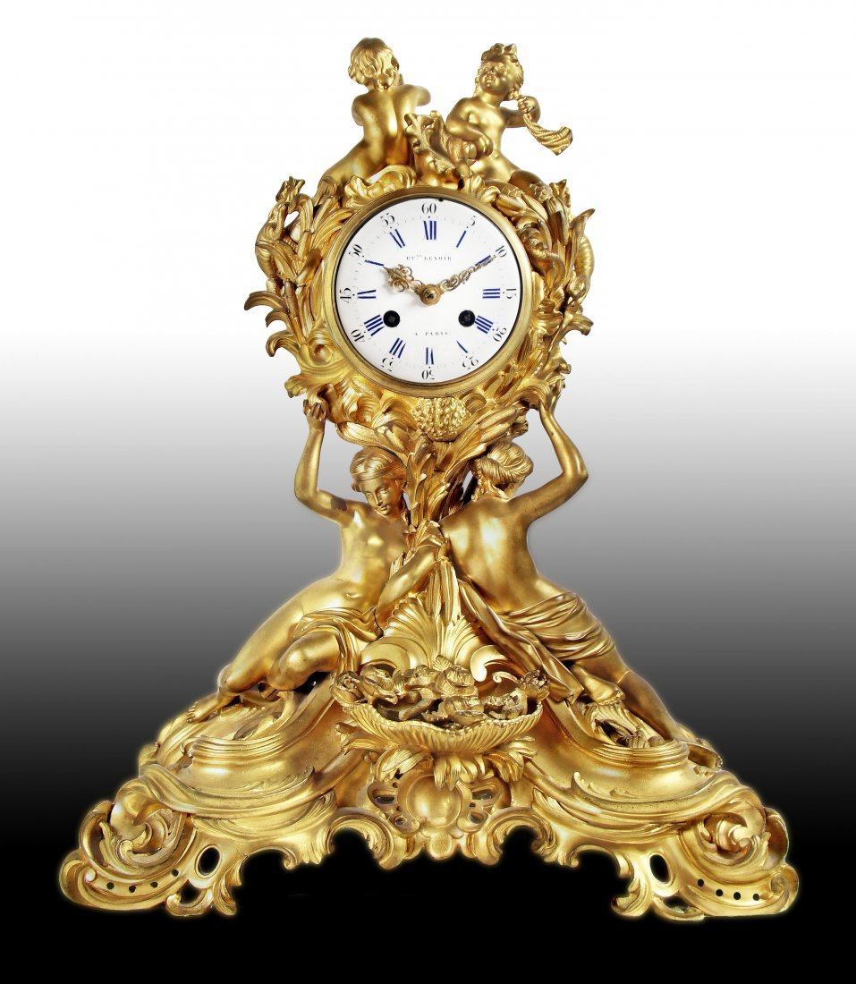 FINE 19TH CENTURY FRENCH MANTLE CLOCK