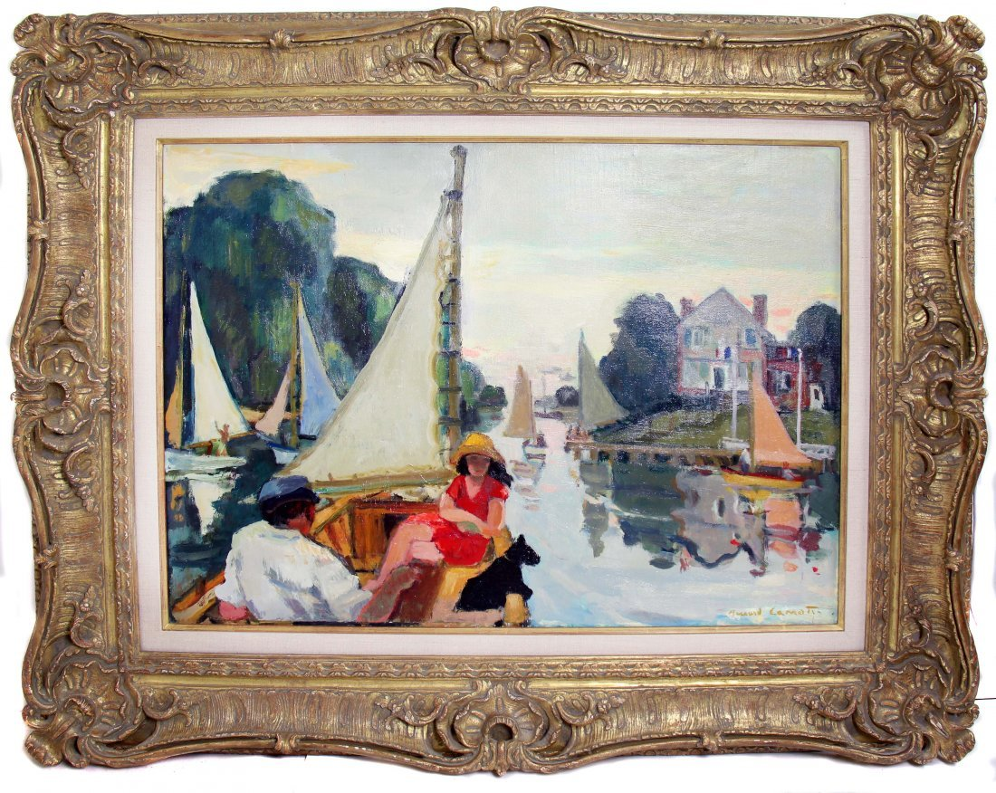 BERNARD LAMOTTE (1903-1983) - 2