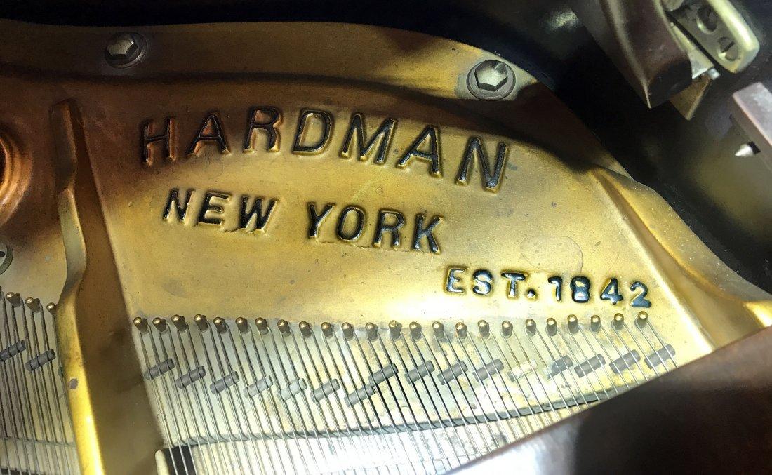 A HARDMAN PECK MAHAGONY BABY GRAND PIANO - 3