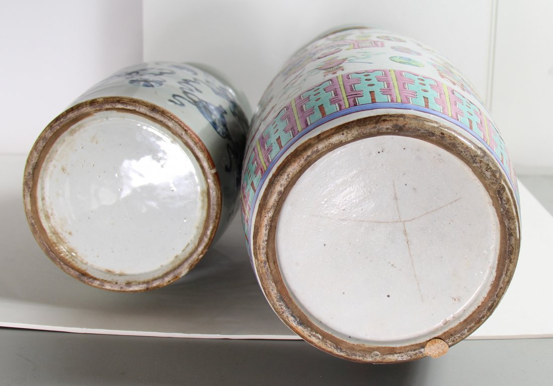 TWO CHINESE PORCELAIN VASES - 2